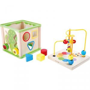 Dado motricità Insetti gioco in legno per bambini Legler 10074