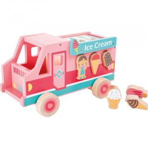 Camioncino dei gelati gioco in legno Motricità Legler 10324