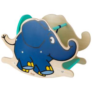 Elefante a dondolo in legno Die Maus