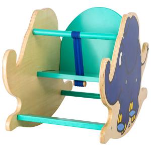 Elefante a dondolo in legno gioco per bambini Die Maus