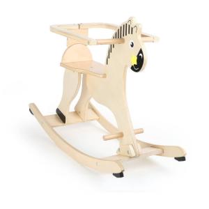 Cavallo a dondolo giocattolo con protezione