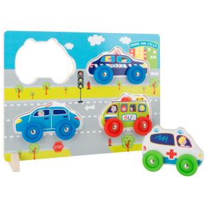 Puzzle 3D automobili