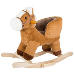 Cavallo a dondolo per bambini con sedile