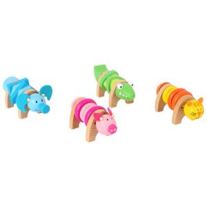 Animali da avvitare colorati Display espositore