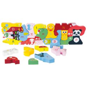 Puzzle ABC di legno gioco didattico Educate