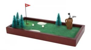 Golf da tavola con 13 accessori gioco in legno aiuto motricità