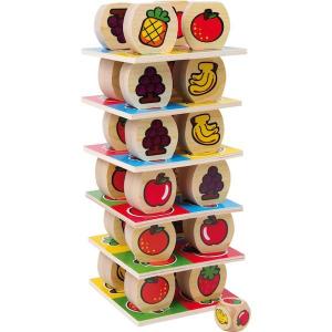Torre costruzione di frutta gioco in legno Legler 1474