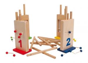 Maledetti buchi gioco da tavola ad incastro  in legno