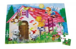 Puzzle Gigante vita rurale per bambini. 48 pezzi