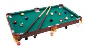 Biliardo da tavolo con accessori 93 cm