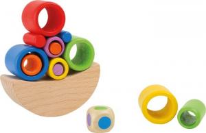 Giochi in legno complicati. Gioco di motricità e abilità. Espositore display