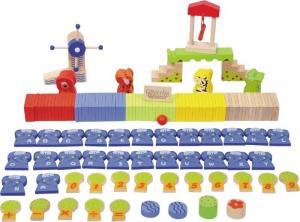 Domino in legno animali dello zoo Gioco per bambini