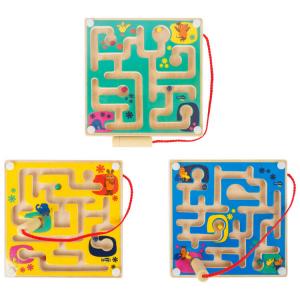 Labirinto magnetico in legno DieMaus Espositore display