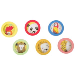 Minilabirinto colorato gioco in legno per bambini Espositore display
