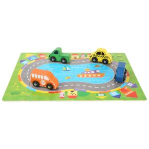 Puzzle in scatola Traffico Gioco per bambini
