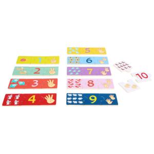 Puzzle didattico Contare Gioco per bambini