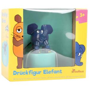 Elefante Figura a pressione in legno Die Maus