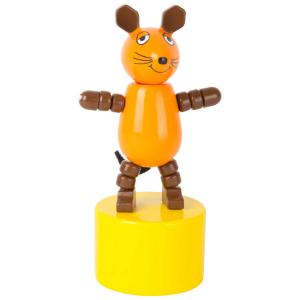 Topolino Die Maus Figura a pressione in legno