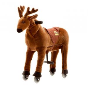 Cavallo Cavalcabile con ruote Alce