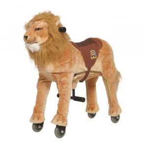 Cavallo Cavalcabile con ruote Leone