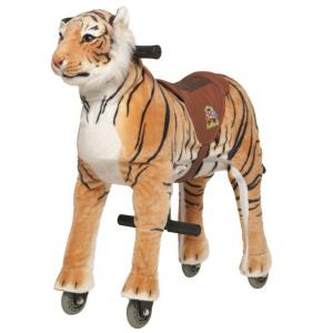 Cavallo Cavalcabile con ruote Tigre