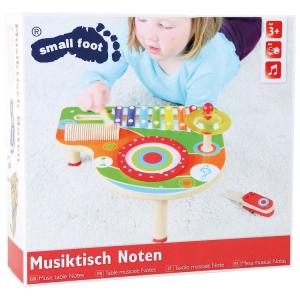Tavolo per la musica giocattolo con xilofono e strumenti Le Note