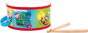 Tamburo strumento musicale per bambini Omino del sonno Legler