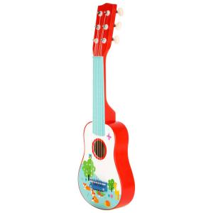 Chitarra giocattolo per bambini Volpacchiotto strumento musicale
