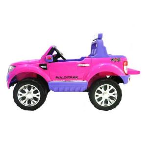 Auto Macchina Elettrica Bambini 2 Posti FORD RANGER 12V WILDTRACK LUXURY ROSA