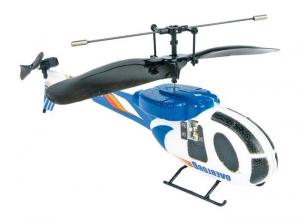 Gioco elicottero telecomandato a raggi infrarossi blu