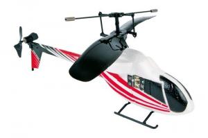 Gioco elicottero telecomandato a raggi infrarossi Rosso