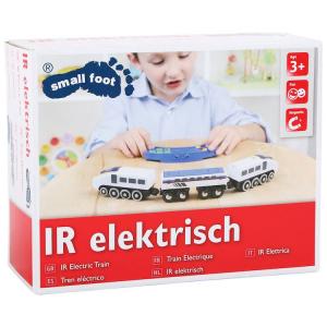 Trenino elettrico giocattolo con locomotiva telecomando e suoni