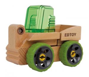 Carrello elevatore in legno Camion da costruire giocattolo bambini