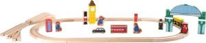 Set giochi in legno con trenino Orso Paddington Legler