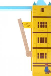 Set giochi in legno Orso Paddington Tower Bridge Londra Legler