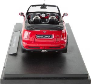 Modellino Auto da collezione Mini Cooper S Cabrio con cofano e porte apribili scala 1:18