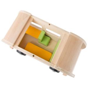 Modellino in legno Veicolo Autobus Hippie in legno