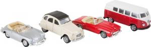 Modellino Auto d´epoca classiche scala 1:60 Espositore display per negozi edicole