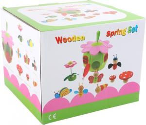 Mondi da giocare Primavera con accessori in legno Giocattolo per bambine
