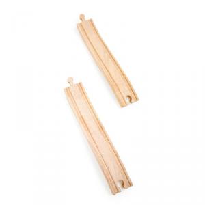 Rampe per ferrovia trenino in legno 2 pezzi Legler 10267