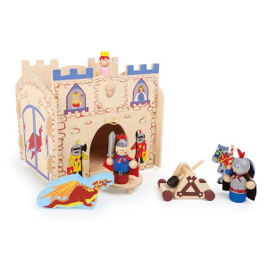 Casetta in legno costruzione ed incastro Cavalieri Legler 10389