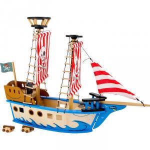 Nave dei pirati giocattolo JACK in legno