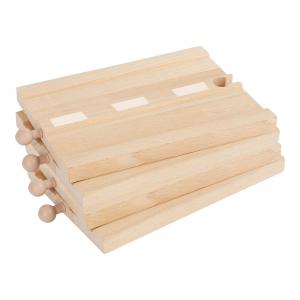 Set Strada rettilineo Accessori trenino legno Small Foot World