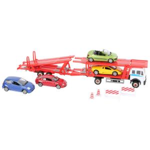 Autotrasportatore con modellini d'auto scala 1:60 inclusi