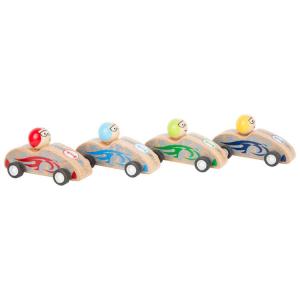 Auto da corsa colorate espositore display