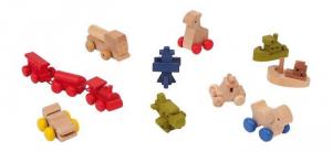 Giocattoli per casa delle bambole Set 12 pezzi Legler 5291
