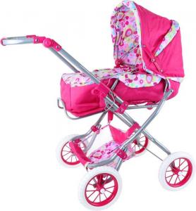 Carrozzina per bambole colorata giocattolo per bambine Facile da trasportare