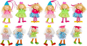 Set Display marionette 12 pezzi gioco bambini