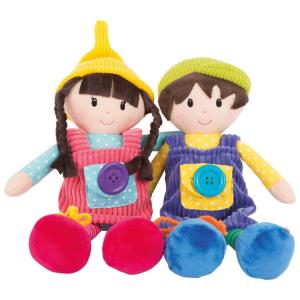 Bambole in stoffa Noah & Emma Gioco bambini