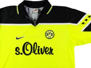 1997-98 Borussia Dortmund Maglia Home M (Top)